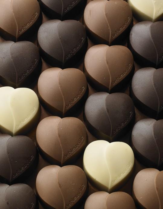 photo studio chocolats de Neuville