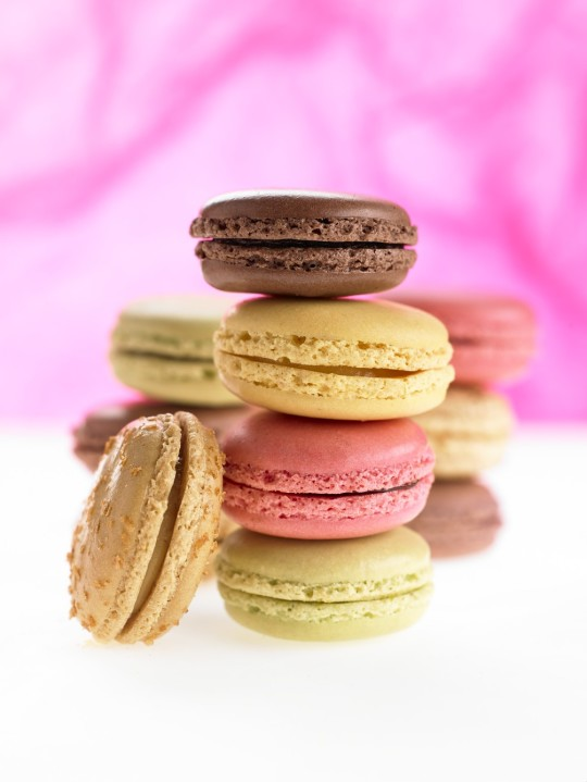 photo studio macarons de Neuville